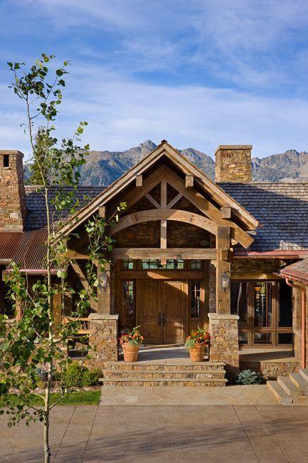 Log Cabin Exterior Doors
