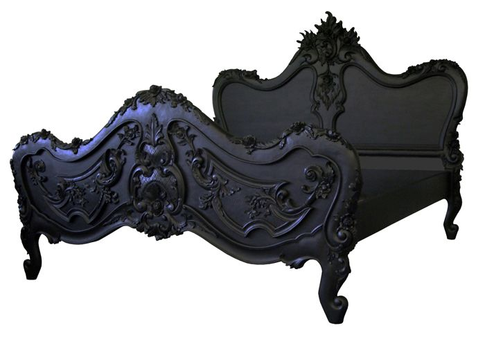 Gothic bed frame