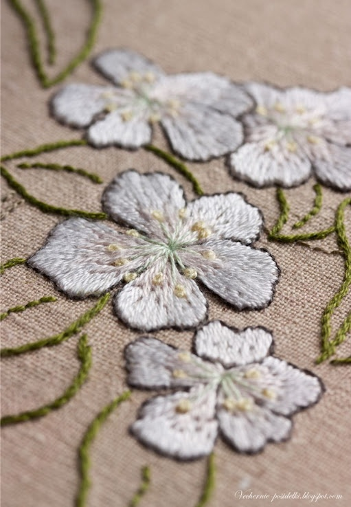 Best images about embroidery technique silk shading on