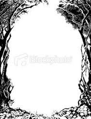 Creepy Picture Frame Drawing