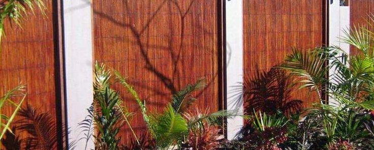 Bamboo Reed Jati Bamboo Screens #BamboScreens #BambooFencing #Fencing #Natural