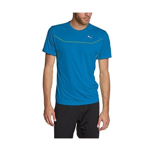 PUMA Herren T-Shirt PT Pure Core Train Short Sleeve Tee, Methyl Blue,