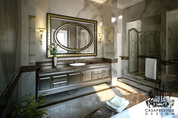 The bathroom really is the only space where you can just lock the door and it's totally your space to enjoy. Let CASAPRESTIGE design your bathroom as your own little oasis ,a sanctuary for your meditation and relaxation. The space will be balanced by an impressive use of luxurious textures and materials and The bath …
