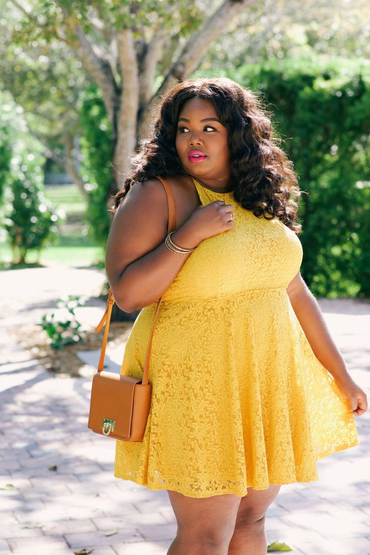plus size fashion The Perfect Spring Dress - Everything Curvy and Chic