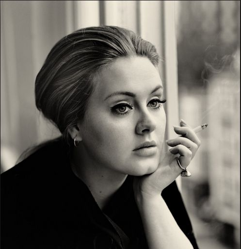 Adele has admitted in many interviews that smoking cigarettes is her greatest vice. Even after a slew of canceled shows, losing her voice, urging from the world's best doctors and an eventual surgical procedure, Adele hasn't managed to quit smoking to save her career or her life. 28 Surprising Celebrity Smokers: #19 Will Shock You!!