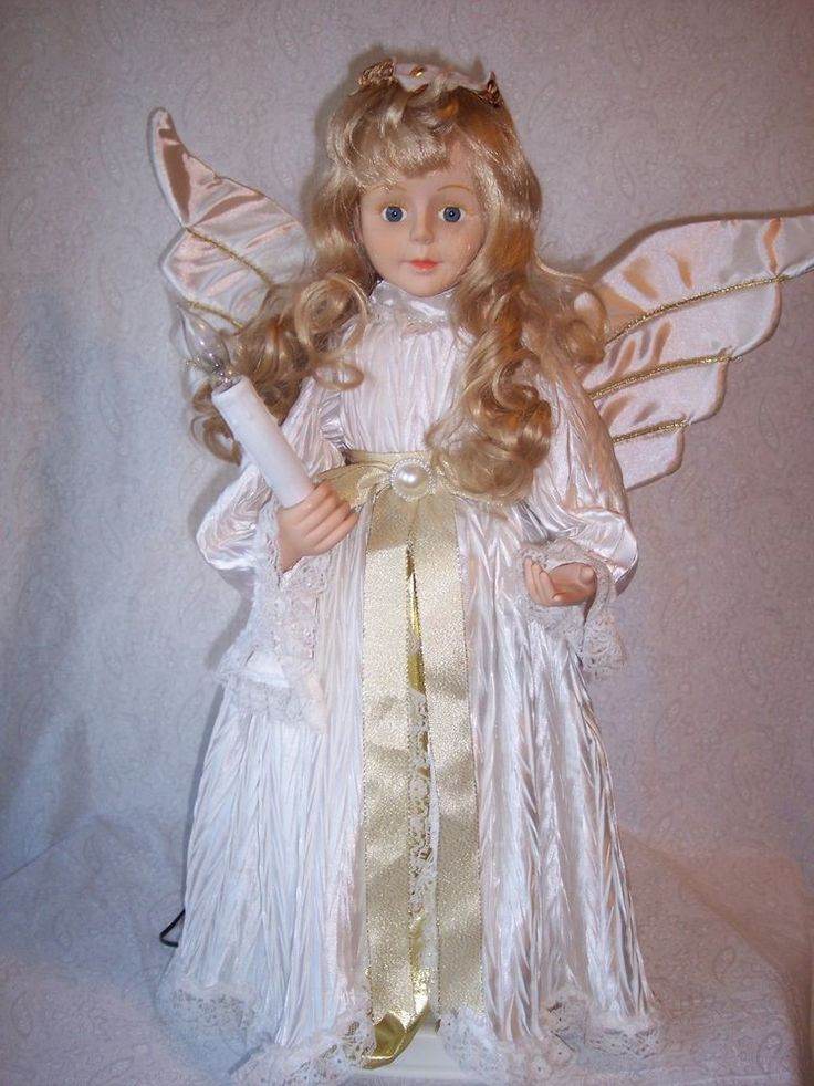 Animated Christmas Display Angel Figure Doll -24 Telco ...
