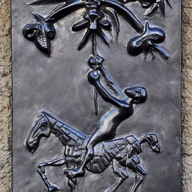 #vetroandras #sculpture #transylvania #saintgeorge #dragon