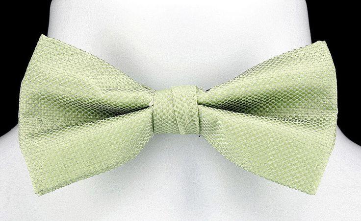 New Mint Green Umo Lorenzo Mens Bow Tie  Hanky Tuxedo Wedding Fashion Bowtie Set #UmoLorenzo #BowTie