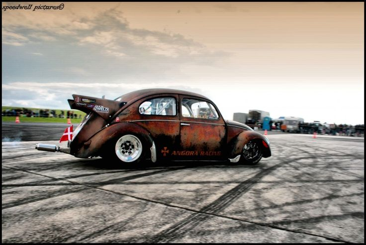 Air Cooled VW Drag Racing
