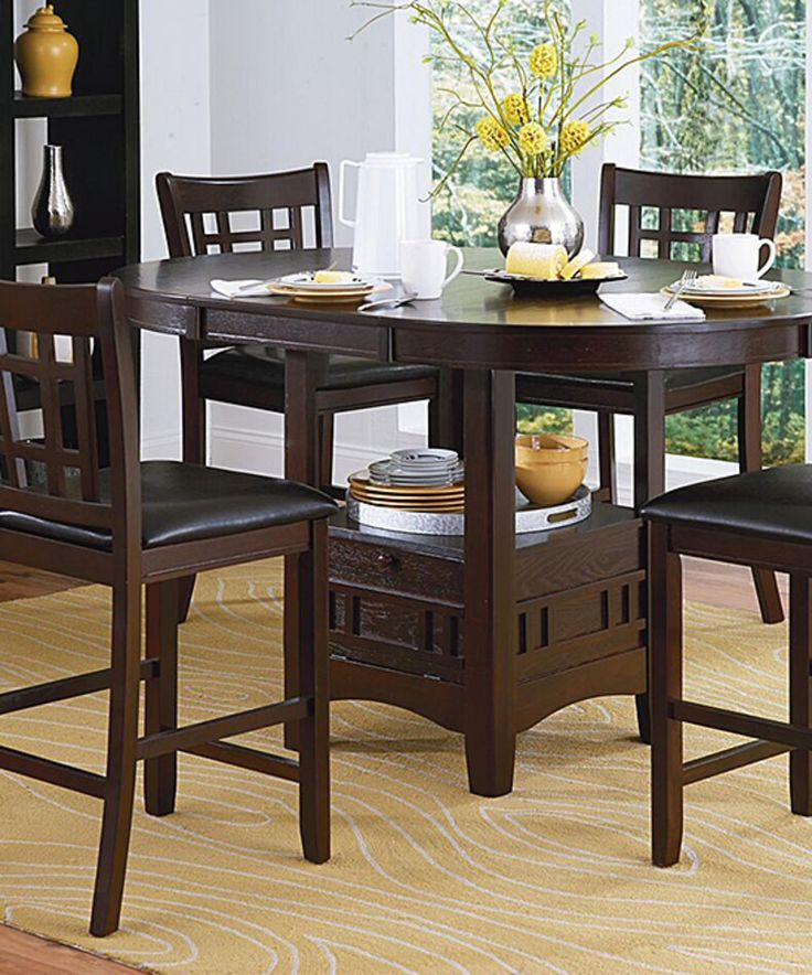 Best 25 Counter Height Dining Table Ideas On Pinterest