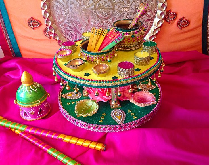Mehndi Party Trays : Best images about mehendi plates thaals on pinterest