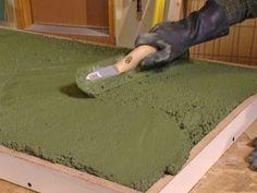 Cómo construir una encimera de hormigón