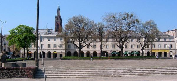 Rynek Starego Miasta Łódź