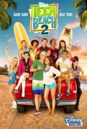 Teen Beach 2 (2015). This one has interesting elements, but it didn't come totally together for me. The lead female is still annoying (maybe more than in the first)!  It was still pretty fun though.