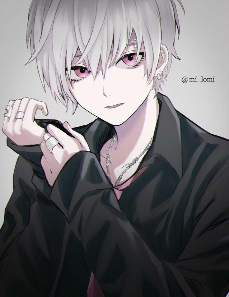 Anime Guy White Hair Suit Art Susser Anime Junge Anime Cosplay Anime Heiss