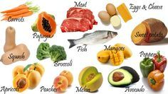 How to increase collagen Vitamin A foods