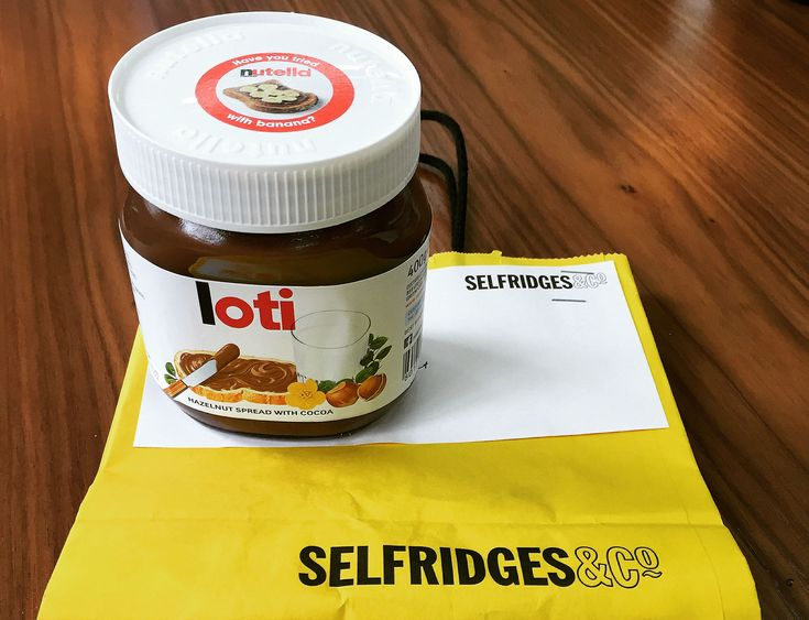 From Friday, you can get a personnalised Nutella jar or Moet champagne bottle at Selfridges (Xmas is coming, get started on the gift list!) >> http://londontheinside.com/2015/10/13/personalised-nutella-jars-are-back/