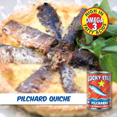 Brunch, lunch or dinner. Hot or cold.   You can't go wrong with a buttery crust filled with delicious sardines.   Our quiche recipe is flop-proof and will be a hit with family and friends.   https://www.facebook.com/LuckyStarSA/photos/a.324080521012669.78759.302222999865088/649136095173775/?type=1&theater