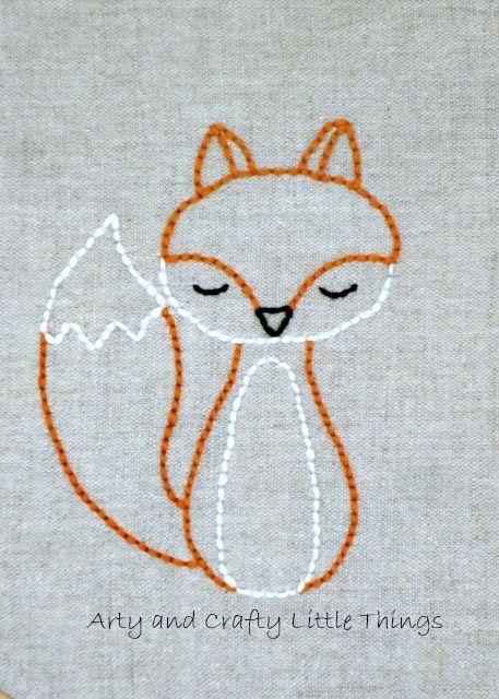 Mr Fox 2 Idea .... Easily Replicated embroidery Like in a good old days @Ani Harutyunyan :)