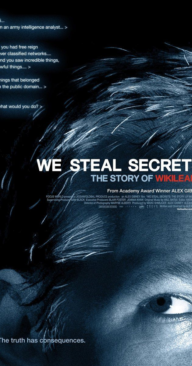 Directed by Alex Gibney.  With Julian Assange, Adrian Lamo, John 'FuzzFace' McMahon, Alex Gibney. A documentary that details the creation of Julian Assange's controversial website, which facilitated the largest security breach in U.S. history.