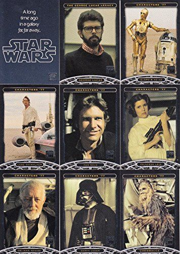 STAR WARS 30TH ANNIVERSARY 2007 TOPPS COMPLETE BASE CARD SET OF 120 //Price: $24.99 & FREE Shipping //     #starwarslife