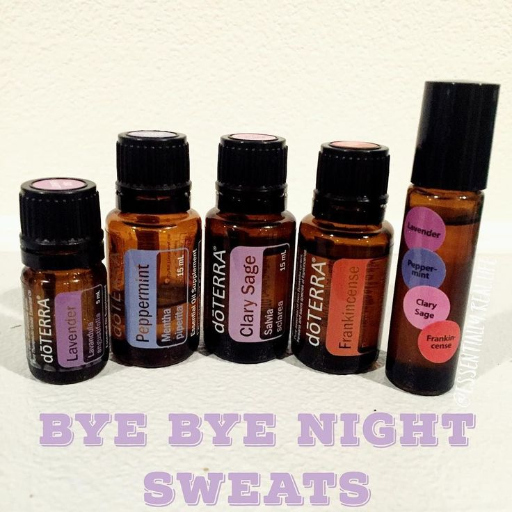Day 4: Rollerball. This rollerball blend has changed my life. I stared getting night sweats about 2 months ago. I put this together, applied to my feet, spine, wrists and neck before bed. Haven't woken up a sweaty-swampy mess since!! ❤️  20 drops Clary Sage,  10 drops Lavender,  5 drops Frankincense and  5 drops Peppermint. Topped off with FCO in a 10 ml roller. ✨✨ #doTERRA #doterra #dōterra #essentialoils #nightsweats #clarysage #lavender #frankincense #peppermint #inspiredoiltribe