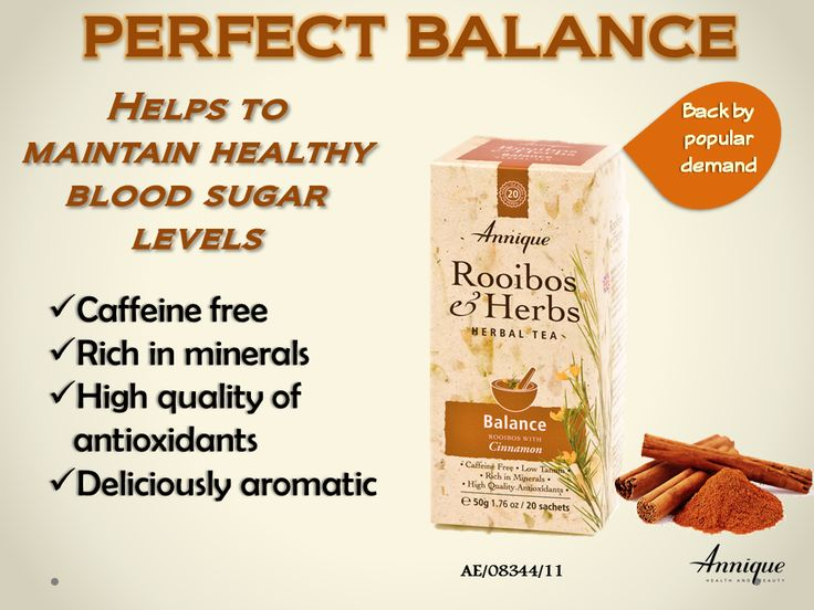 Annique's superior quality Rooibos with deliciously aromatic cinnamon. The perfect winter warmer, no sugar required. Ideal for diabetics, as cinnamon helps balance blood sugar. Follow Annique's Lifestyle Philosophy and supplement with OptiRooibos for more natural and effective diabetes support