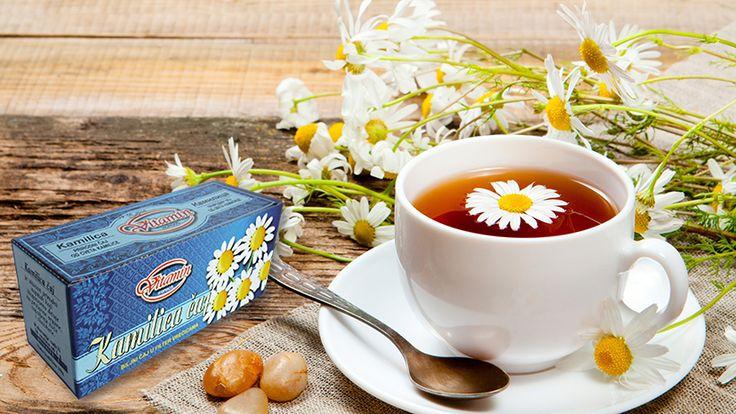 Vitamin čaj od kamilice za DOBRO JUTRO :-) SMIRUJE I OPUŠTA <3 #caj #tea #camomile #kamilica #vitamin #vitaminhorgos #tempo #maxi #shopandgo #idea #mercator #roda #aromamarketi