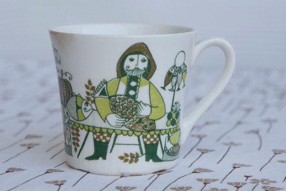 Figgjo Norway 'Market' Cup by Turi Gramstad Oliver by HobbyMum, $12.00
