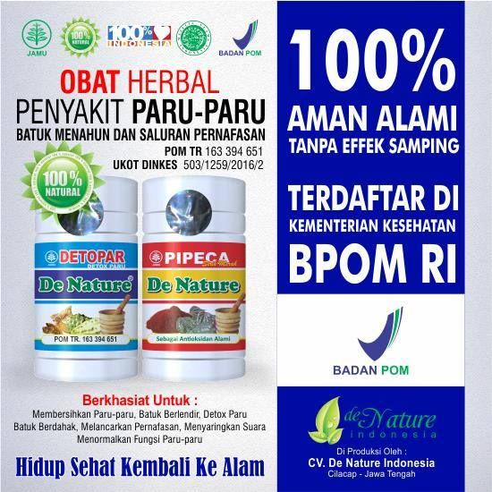 Obat Paru Paru Herbal Paling Ampuh