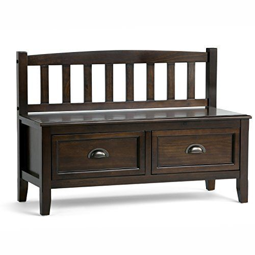 You want to your front entrance to be dramatic and spectacular. We understand. We designed the Burlington Storage Bench with exactly this in mind. This beautiful bench enhances your entryway while creating added storage and seating for your entryway or mudroom. Understanding that functionality... see more details at https://bestselleroutlets.com/home-kitchen/furniture/entryway-furniture/product-review-for-simpli-home-burlington-entryway-storage-bench-with-drawers-espresso-bro