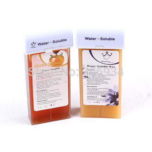 Wax Hair Removal Depilatory Heater Wax Hot Depilation 2Pcs Water soluble Wax 150g Fast Removal Of Hair Depilator Epilator