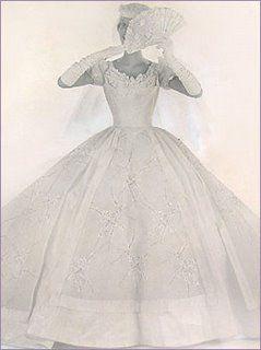 You Gotta Love A '50s Bride... :  wedding vancouver wedding dress 50s Pho