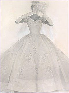 You Gotta Love A '50s Bride... :  wedding vancouver wedding dress 50s Pho