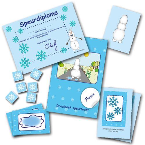 De Frozen speurtocht  start en eindigt met een film waarin de kinderen kennismaken met een smeltende sneeuwman op weg naar de zon. Lukt het de kinderen hem op tijd te helpen door ijskristallen  te verzamelen zodat hij niet smelt? Ieder kind gaat op pad met een opdrachtkaart waarop het stickertjes met afbeeldingen van ijskristallen plakt.  Aan het eind van de speurtocht kijken de kinderen een film waarin ze zien dat de sneeuwman langzaam weer beter wordt.