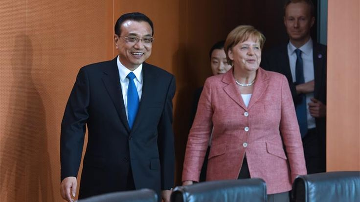 Chinese Premier Li Keqiang arrived in Berlin Wednesday for an official visit to Germany. Premier Li attended a welcome ceremony held by German Chancellor Angela Merkel, and joined Merkel for an annual meeting between the two heads of government.