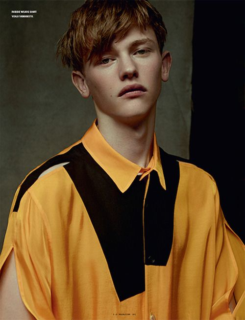 Robbie McKinnon by Karim Sadli - i-D Magazine, Summer 2014