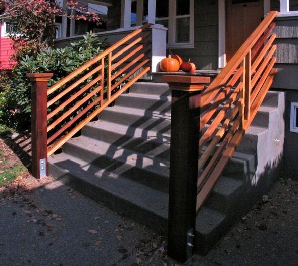 Best Wide Front Steps Front Step Railings Sidewalk Ideas 400 x 300