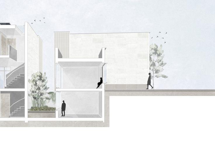 Heren 5 architecten heeft samen met onder andere karres+brands de tender voor twee blokken met 82 eengezinswoningen in de Amsterdamse wijk Jeruzalem gewonnen.