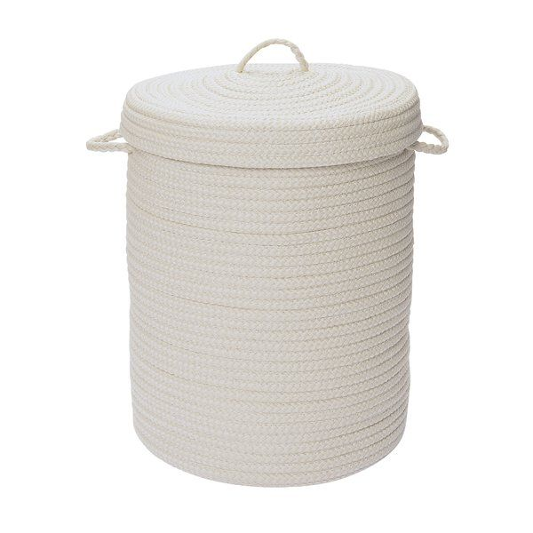 Essentials Polypropylene Laundry Hamper Laundry Hamper Hamper