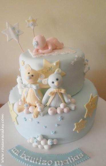 Tarta de bautizo (Rosaura Cakes)