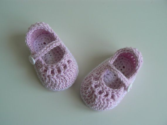 Baby Girl  Mary Jane-scarpe bambino  di LittleMoppetsDesigns