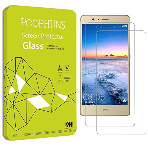 From 5.48 Huawei P9 Lite Screen Protector Poophuns 2 Pack Tempered Glass Screen Protector Huawei P9 Lite 9h Hardness One-push Installation Bubble Free