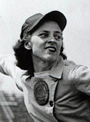 Sophie Kurys stole 201 bases in 1946 while playing in the All American Girls Professional Baseball League, has died. She was 87. Kurys' mark of 201 steals — in 203 attempts — was recognized in a recent exhibit by the Hall of Fame. Cincinnati Reds prospect Billy Hamilton set the minor league mark last year with 155. Rickey Henderson holds the modern major league record with 130.  And she set that stealing record in a skirt! that meant when she slid into 2nd she did it with bare legs!