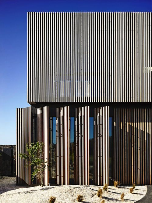 Fachada 'Torquay House'. Arquiteto: Wolveridge Architects