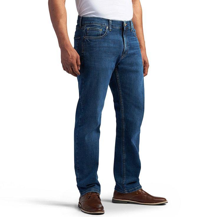 Men's Lee Modern Series Athletic-Fit Jeans, Size: 32X34, Med Blue