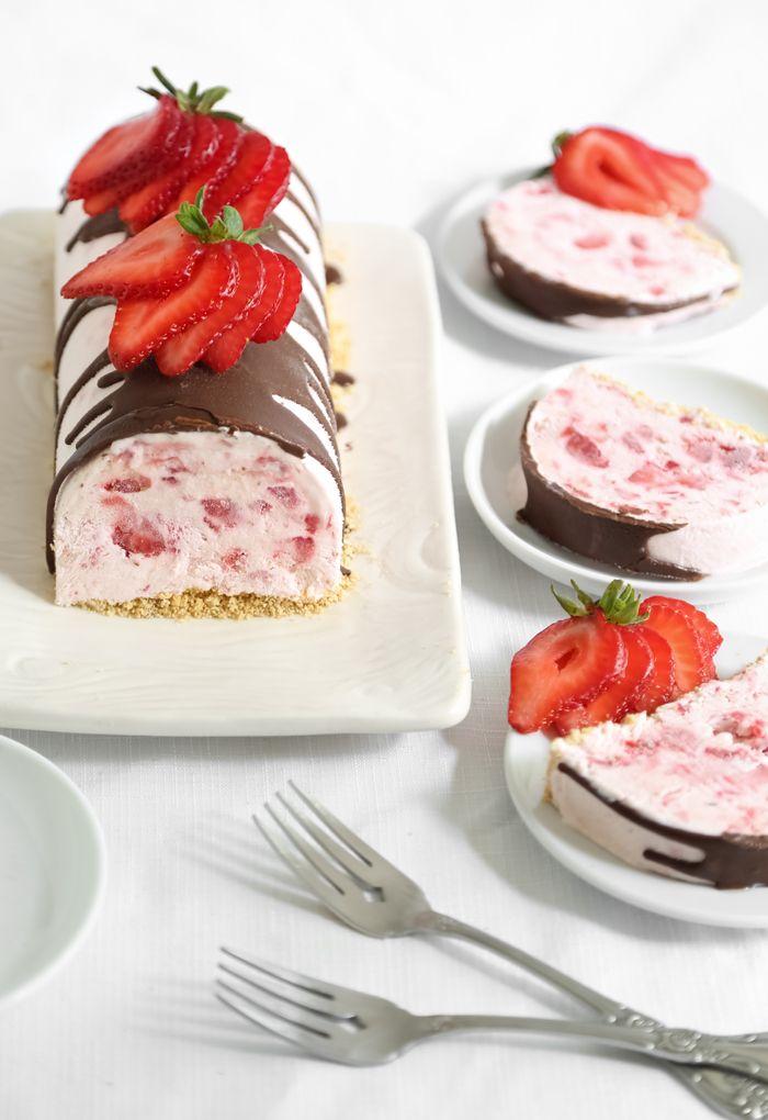 Gefrorene Erdbeeren Sensation |