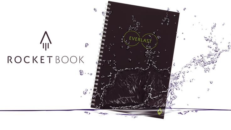 One reusable notebook to last the rest of your life? That's not magic. It's the smart paper-and-pen notebook, Rocketbook Everlast.