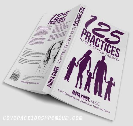 5.5 x 8.5 Softcover Book Template Design