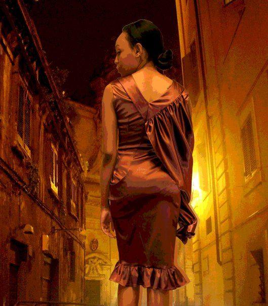 """Pocket dress """" Ava"""" www.lineadiluna.com"""